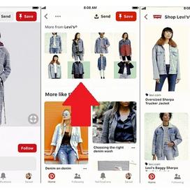 Pinterest lanceert grote campagne met Levi's