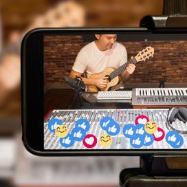 Facebook geeft muzikanten , bands en performers een nieuwe live stream optie