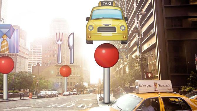 KLM wijst je de weg met Emoji's!