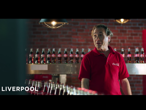 Coca Cola brings the Worldcup to life...