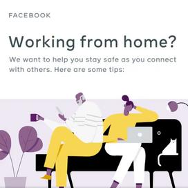 Facebook tips voor veilig thuiswerken