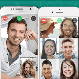 Whatsapp uitbreiding naar 8 personen video chat