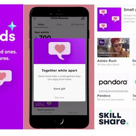 TikTok lanceert kleine cadeaus voor gebruikers onderling
