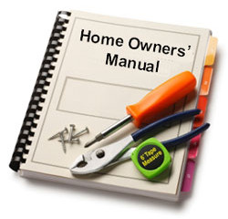 Home Inspection as an owner's manual