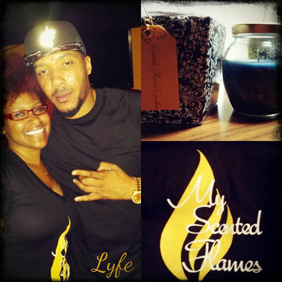 "My Scented Flames ""Shari & RB ARTIST Lyfe Jennings"""