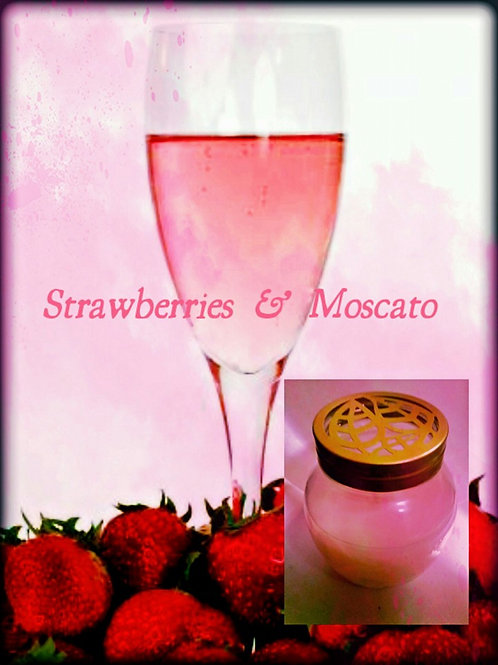 Strawberries & Moscato Wax Melt (Special Order Scent)