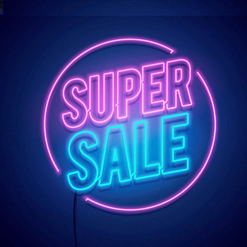 Super/Happy Valentine's Day Sale $7.75