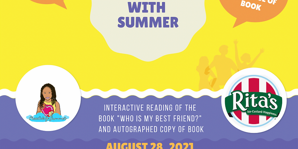 Bring your Best Friend for Storytime with Summer & Rita's Italian Ice