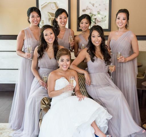 Color Makeup Studio Bride and Bridal Party
