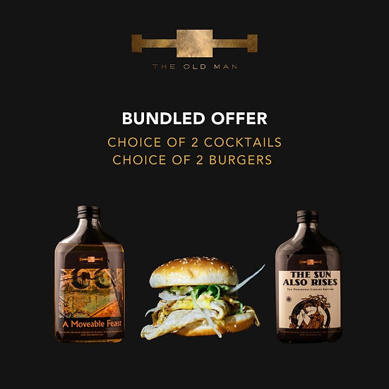 Two On Two Cocktail Burger Bundle