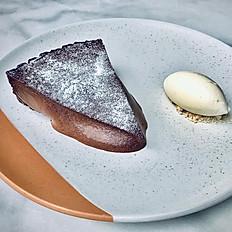 Chocolate Cheese Cake Slice