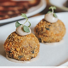 Mushroom Truffle Croquettes