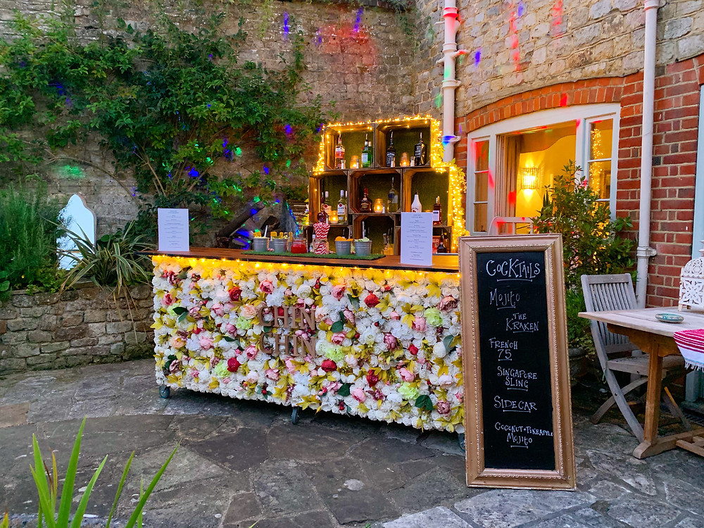 Chin Chin Bouquet Bar at Mark & Rivinia's Garden Party in Midhurst, West Sussex