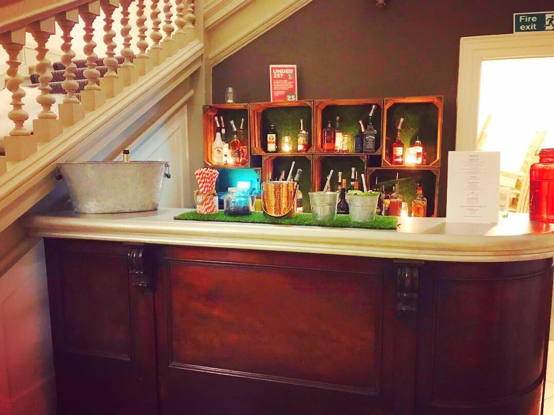 Chin Chin Mobile Bars at Pynes House