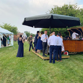 John & Aislinn's Wedding   Chin Chin Caravan Bar   St. Nicholas-at-Wade, Kent