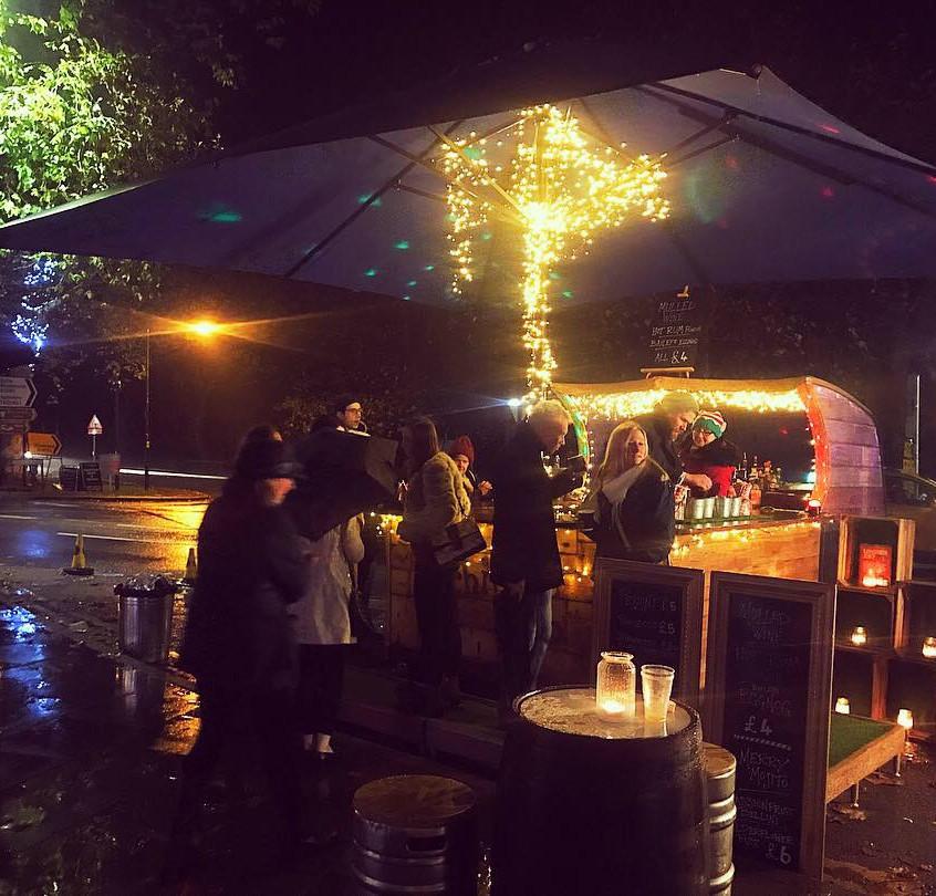 Caravan Bar @ Christmas in Tenterden
