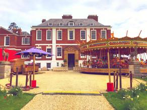 Funfair Themed Wedding | Chin Chin Caravan Bar at Jon & Ashley's Wedding at Pynes House