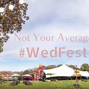 Not Your Average Wedfest 2019 | Tunbridge Wells Wedding Fair on 22nd September 2019