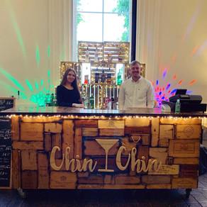 Alexander & Eleanor's Black Tie Wedding   Chin Chin Wine Box Bar   Oxon Hoath Country Estate, Hadlow