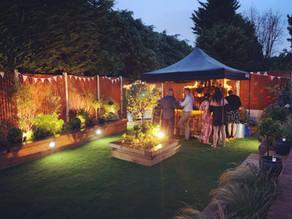 Essex Garden Party | Chin Chin Wine Box Bar at Lee & Paula's Wedding Anniversary Party