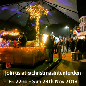 Christmas in Tenterden 2019 | Visit Chin Chin Mobile Bar for Festive Drinks & Cocktails!