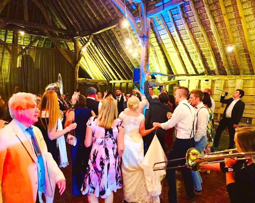 Dancing at Daniel & Sarah's Wedding