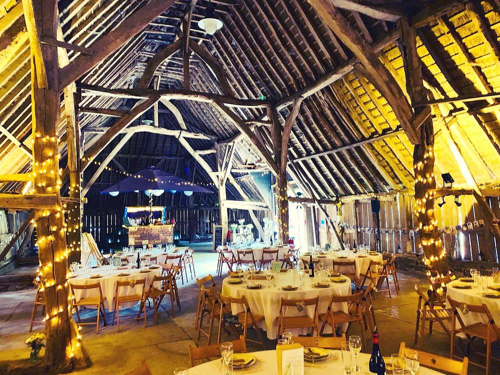 Chin Chin Caravan Bar at Daniel & Sarah's Wedding at Littlebourne Barn in Kent