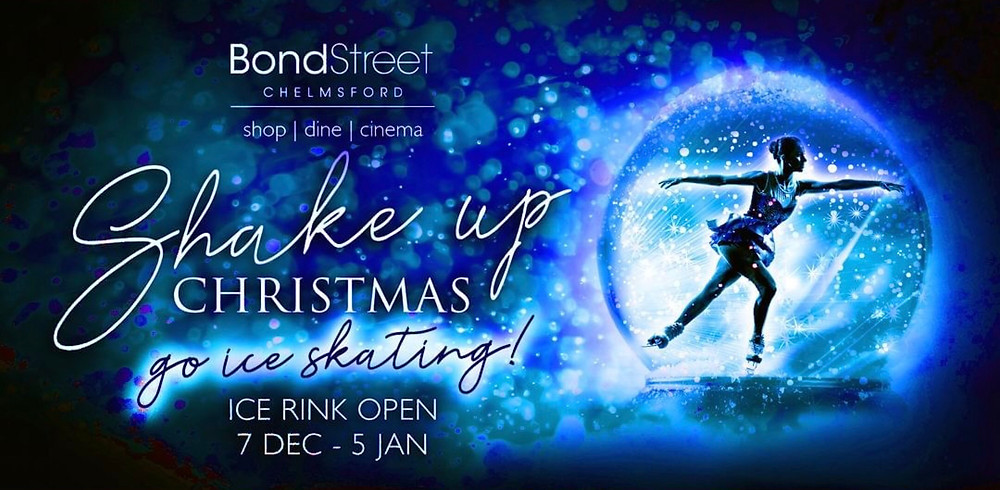 Bond Street Chelmsford outdoor Christmas ice rink 2018