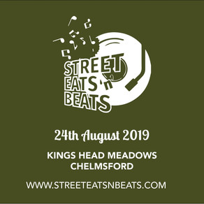 Street Eats 'n' Beats 2019 | Chin Chin Caravan Bar at Chelmsford Festival