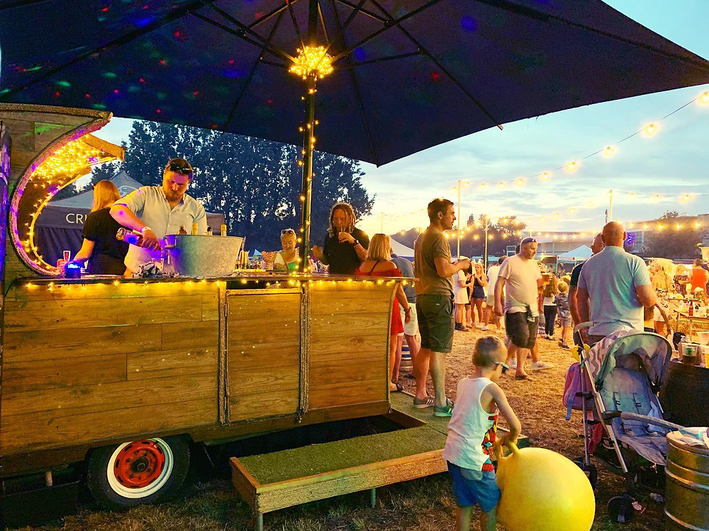 Chin Chin Caravan Bar at Street Eats 'n' Beats Festival 2019 in Chelmsford, Essex