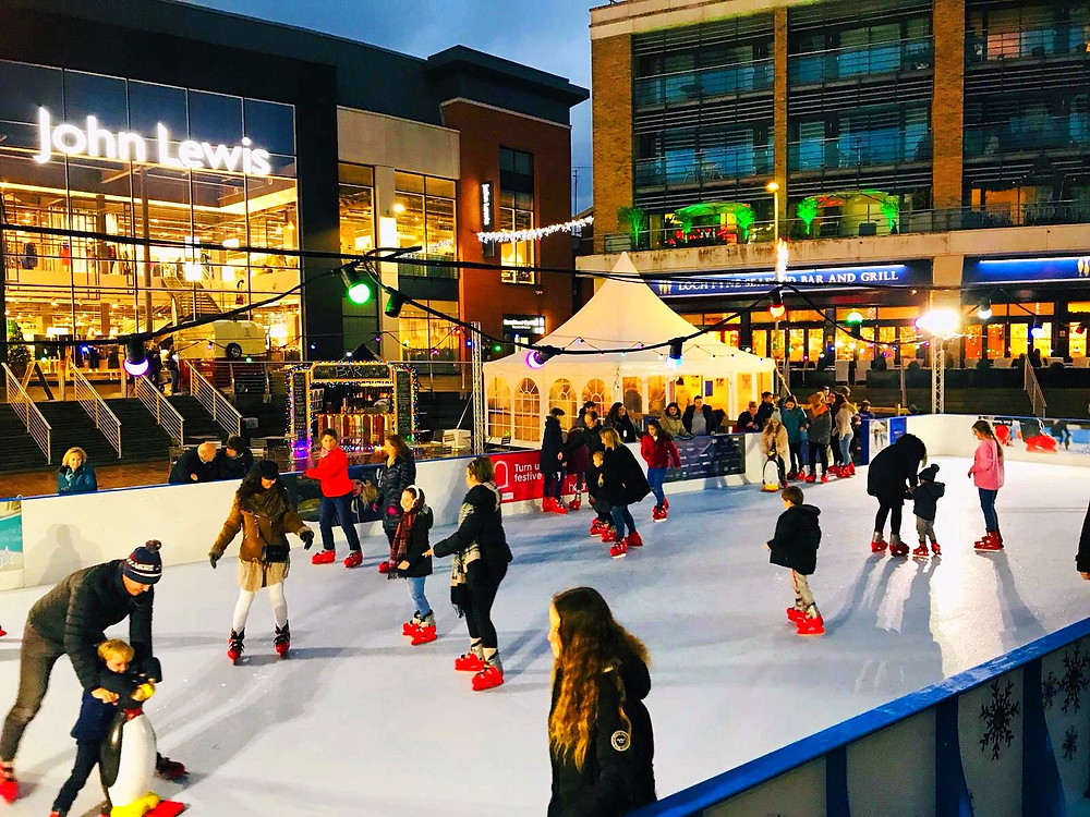 Chin Chin Mobile Bar at Bond Street Chelmsford Christmas Ice Rink 2018