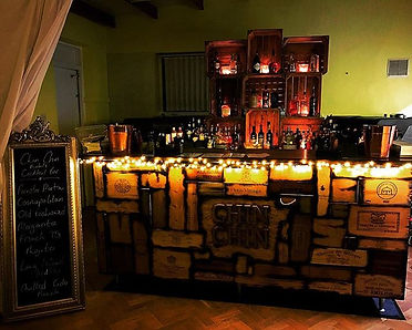 Chin Chin Wine Box Bar at Essex party