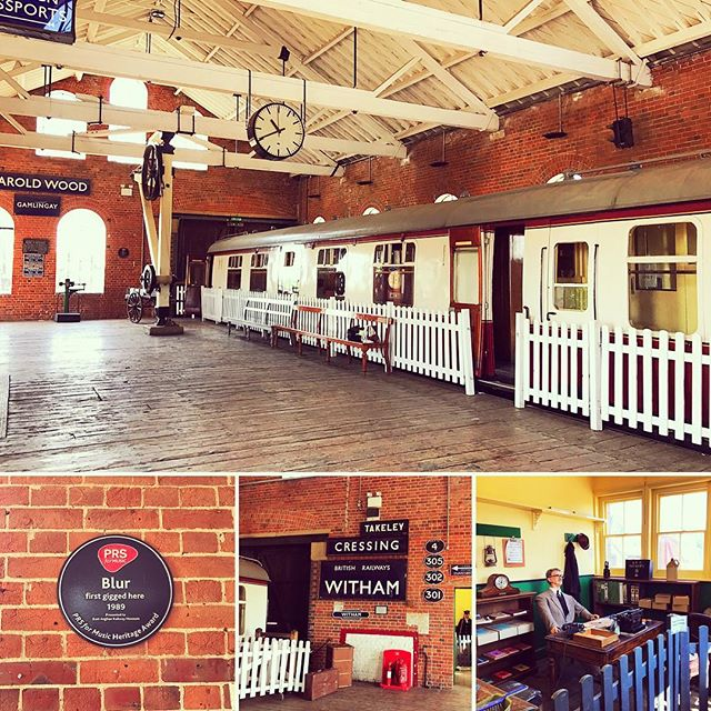 Inside East Anglian Railway Museum