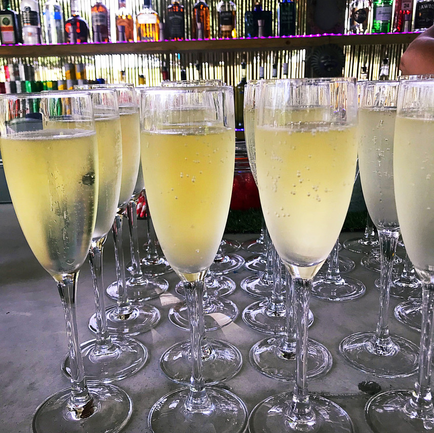 Prosecco Welcome Drinks