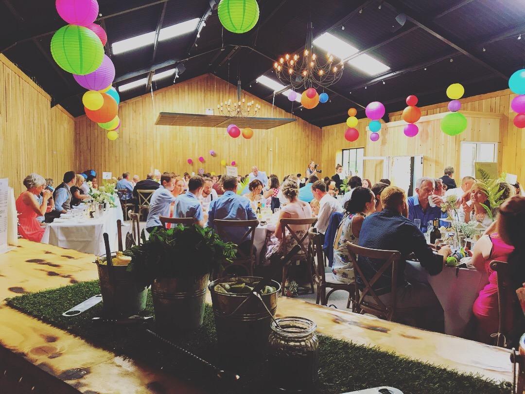 Nick & Phoebe's Barn Wedding