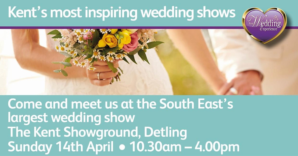 The Wedding Experience Show at The Kent Showground in Detling on Sun 14th Apr 2019