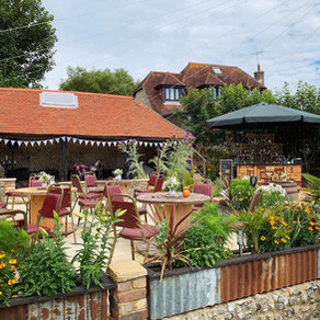 John & Emma's Rustic Wedding   Chin Chin Wine Box Bar   Little Downash Farm in Hailsham, East Sussex