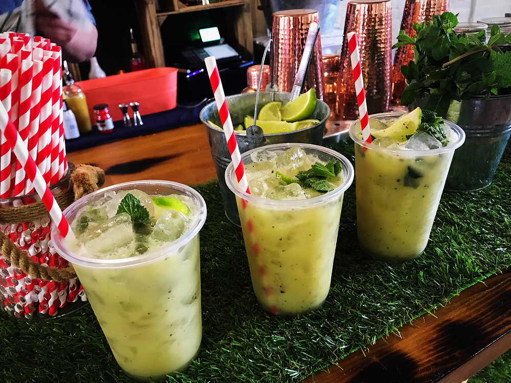 Chin Chin Pineapple & Coconut Mojito