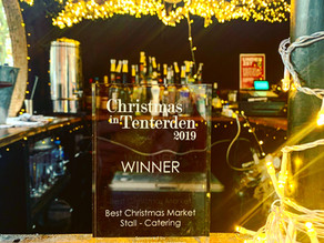 Christmas in Tenterden 2019 | Chin Chin Mobile Bars Wins Best Christmas Catering Stall!