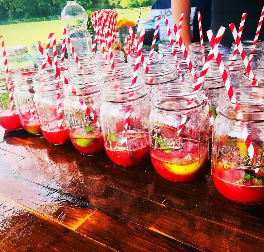Strawberry Mojito Welcome Drinks