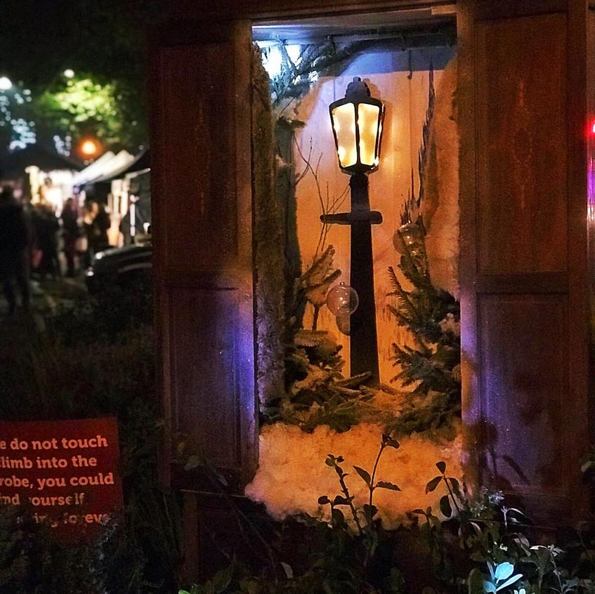Narnia at Christmas in Tenterden