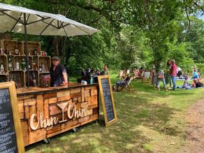 Wealden Literary Festival 2021   Chin Chin Wine Box Bar in Woodchurch, Kent