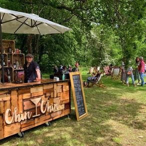 Wealden Literary Festival 2021 | Chin Chin Wine Box Bar in Woodchurch, Kent