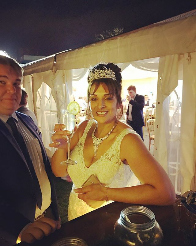 The Bride with an Elderflower Fizz