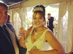 Chin Chin Caravan Bar at Post-Wedding Party in Bromley
