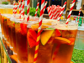 Margate Garden Party Wedding | Chin Chin Wine Box Bar