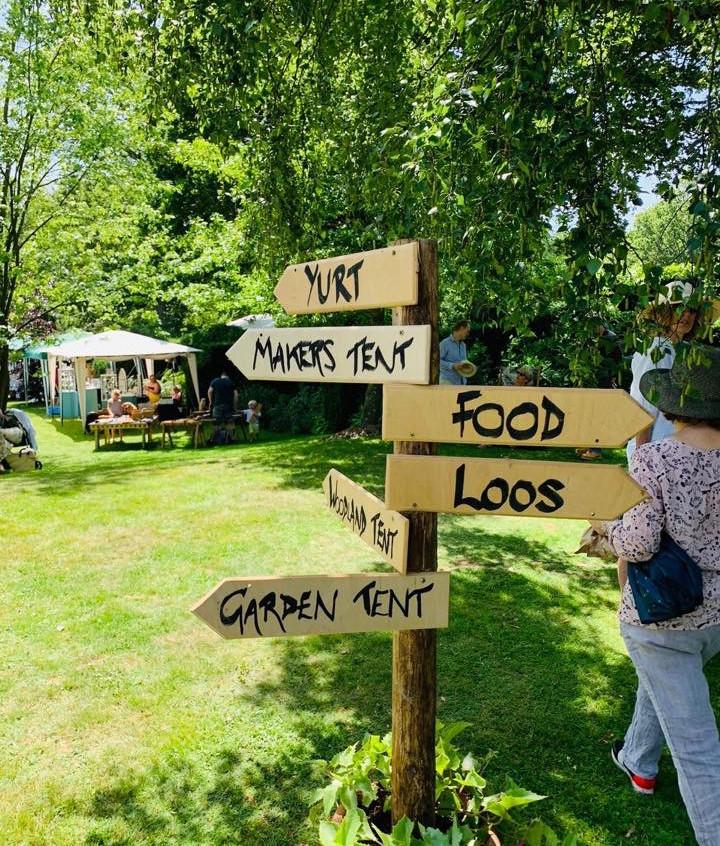 Wealden Literary Festival Signs
