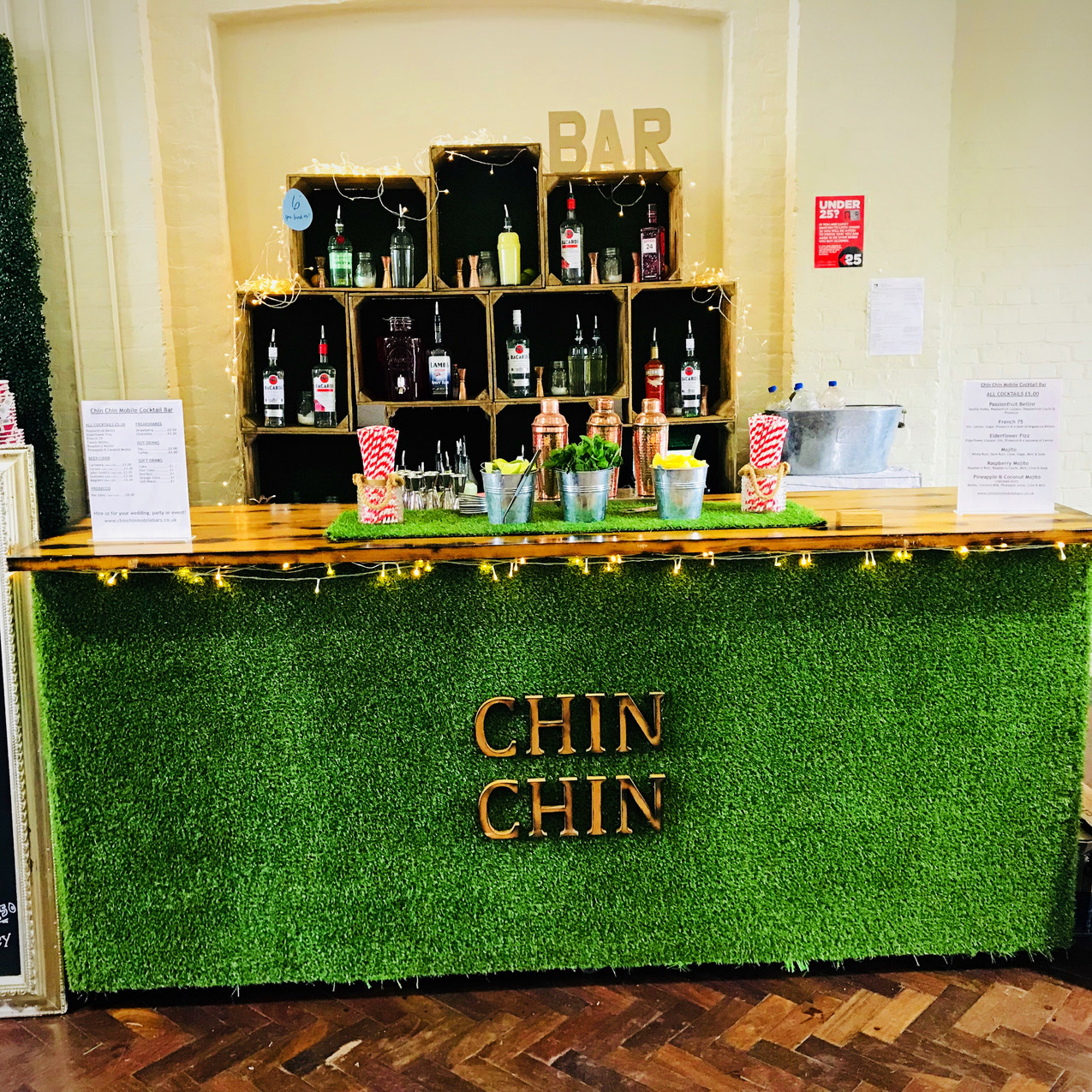 Chin Chin Lawn Bar at Etsy Made Local Event