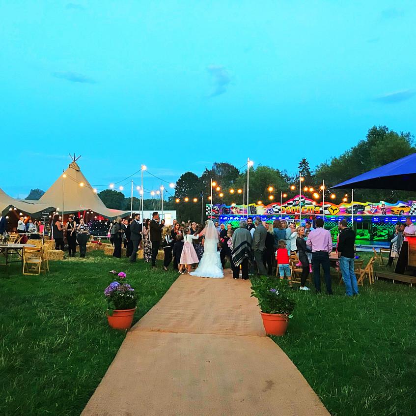 Ellie & Sam's Festival Wedding