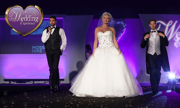 The Wedding Experience Show at Kent Showground in Detling, Kent